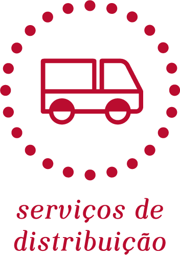 Serviços de distribuição