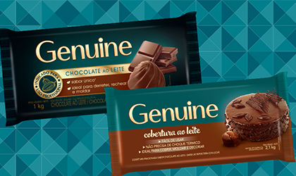 Linha de Chocolates Genuine